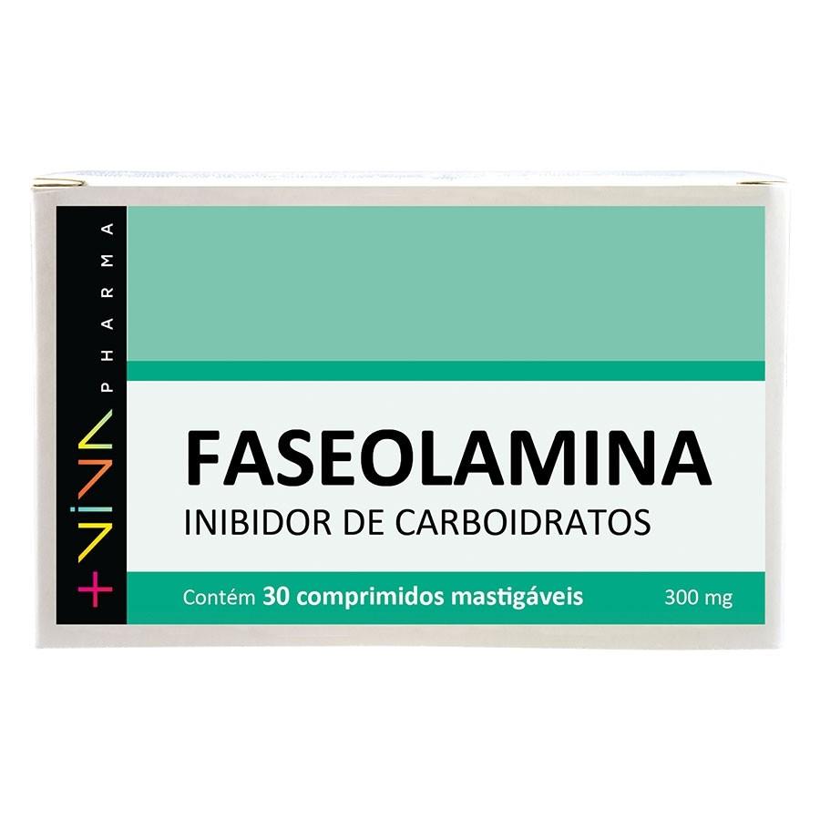 Faseolamina Inibidor de Carboidratos - 30 comprimidos mastigáveis