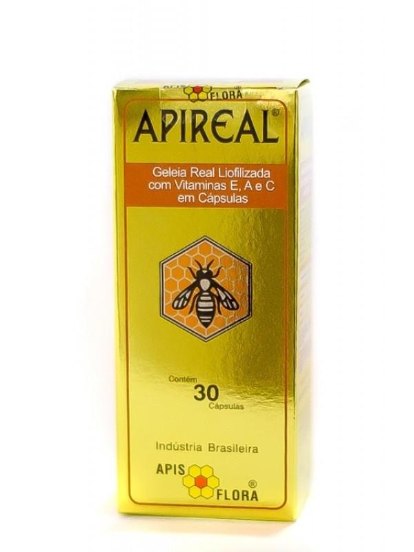 Geleia Real Liofilizada com Vitaminas E, A e C em Cápsulas - 30 Caps