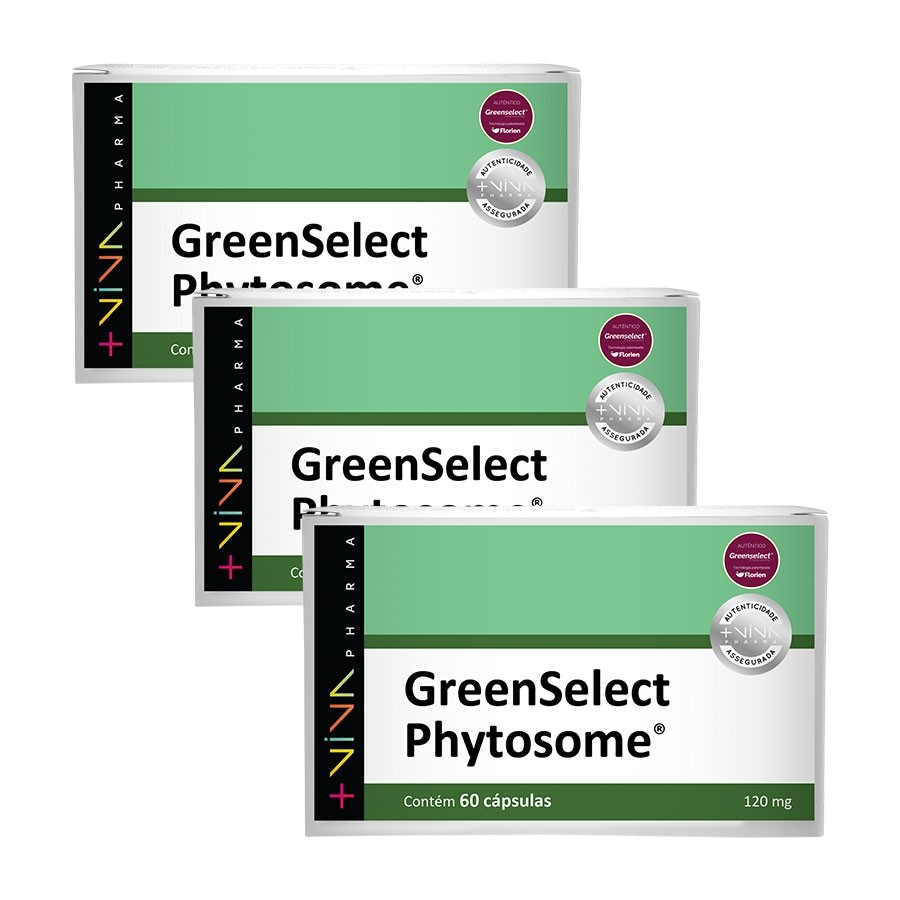 GreenSelect Phytosome® 120mg 60 Cápsulas (3 Unidades)