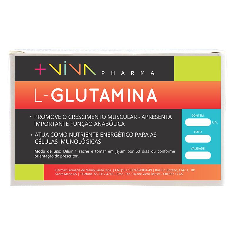 L-Glutamina Caixa (30 sachês)