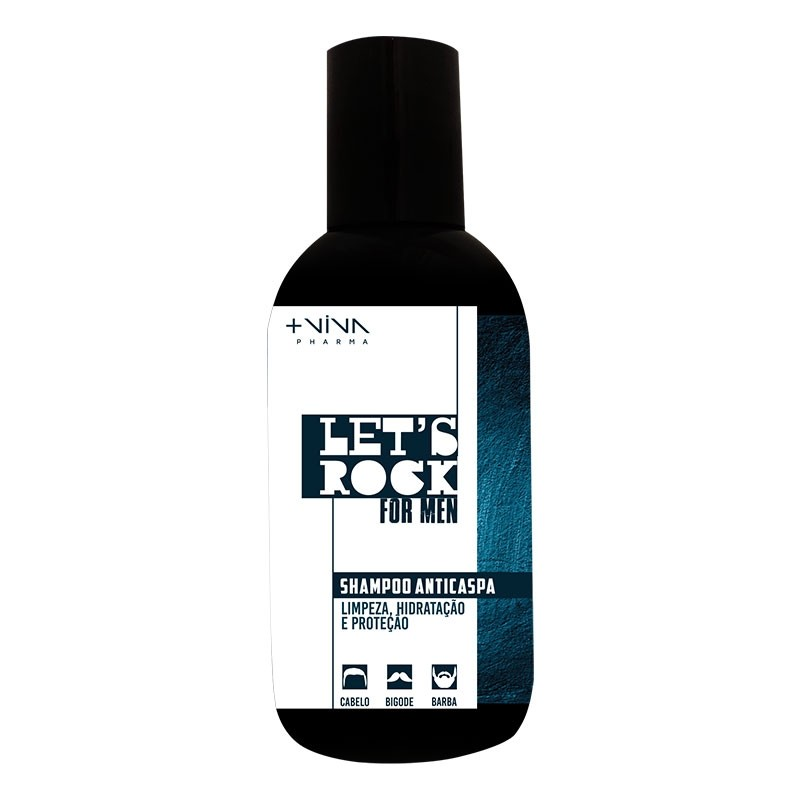 Let's Rock For Men Shampoo Anticaspa