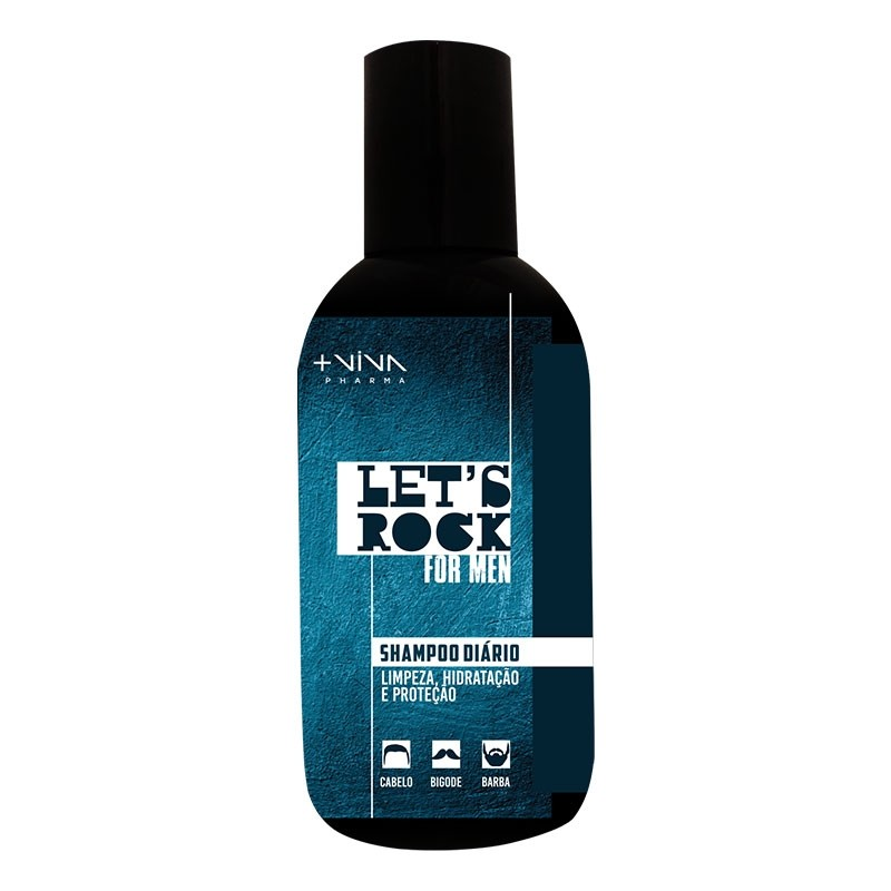 Let's Rock For Men Shampoo Diário