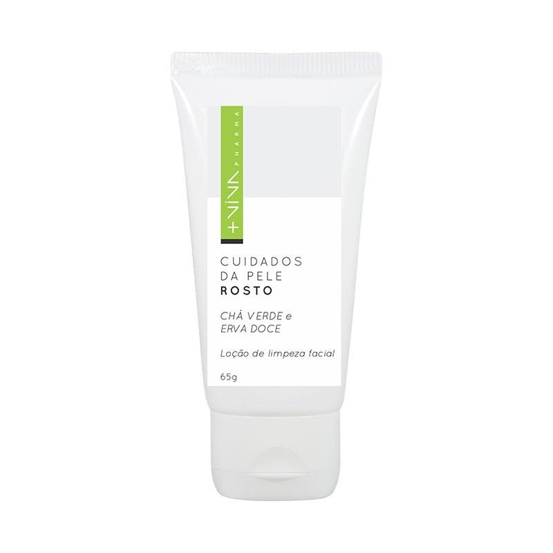 Loção de Limpeza Facial Chá Verde e Erva Doce