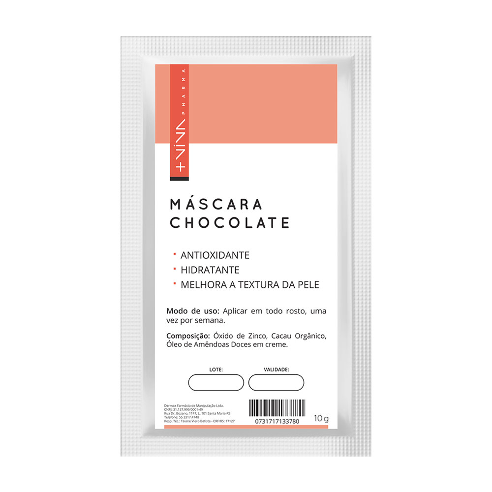 Máscara de Chocolate 10g