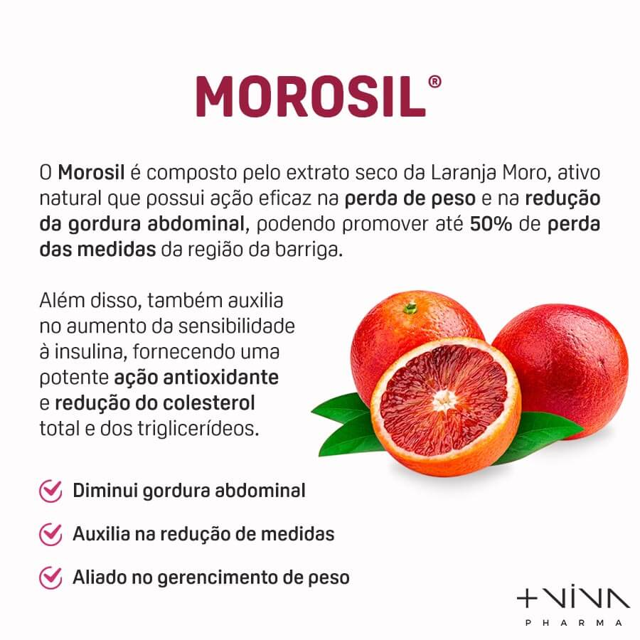 Morosil - Seca barriga 500mg 30 comprimidos mastigáveis