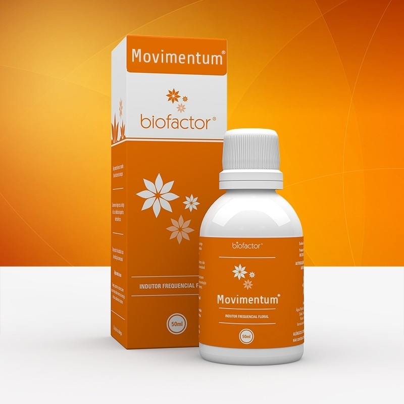 MOVIMENTUM® - Indutor Frenquencial Floral (Biofactor)
