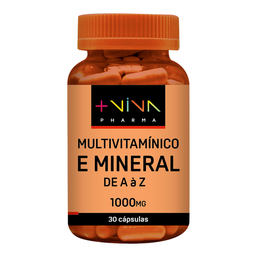 Multivitamínico e Mineral de A a Z