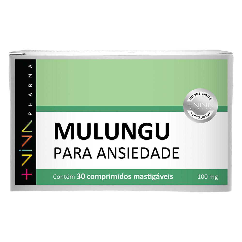Mulungu para Ansiedade 100mg 30 Comprimidos Mastigáveis