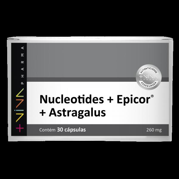 Nucleotides® + Epicor® + Astragalus 260mg  30 Cápsulas