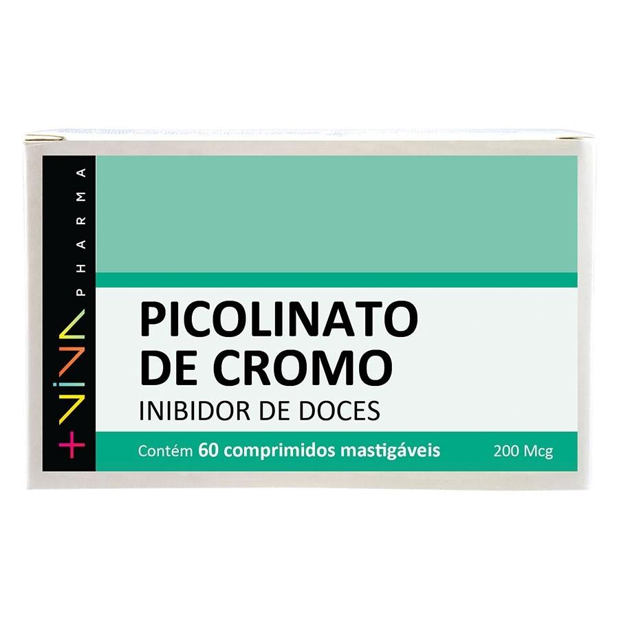 Picolinato de Cromo Inibidor de Doces - 60 comprimidos mastigáveis
