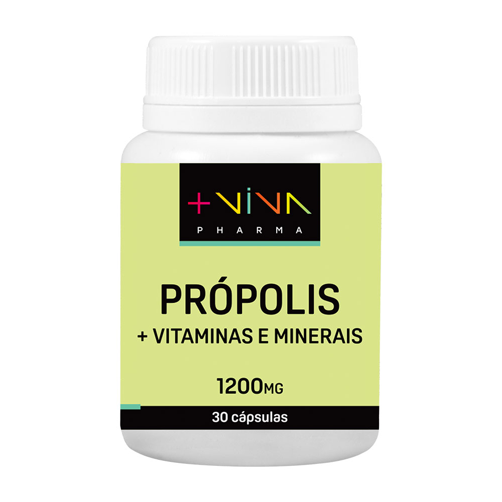 Própolis + Vitaminas e Minerais 1200mg