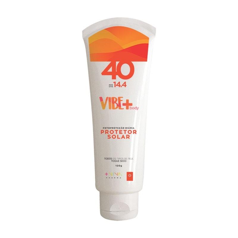 Protetor Solar Vibe+Body FPS 40