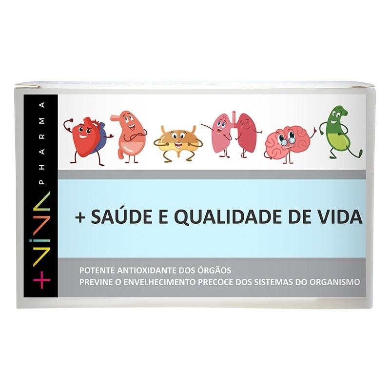 Resveratrol + Licopeno  220mg 30 Cápsulas