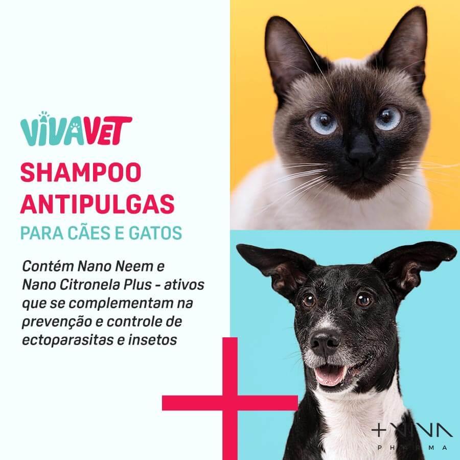 Shampoo Antipulgas para Cães e Gatos - 150ml