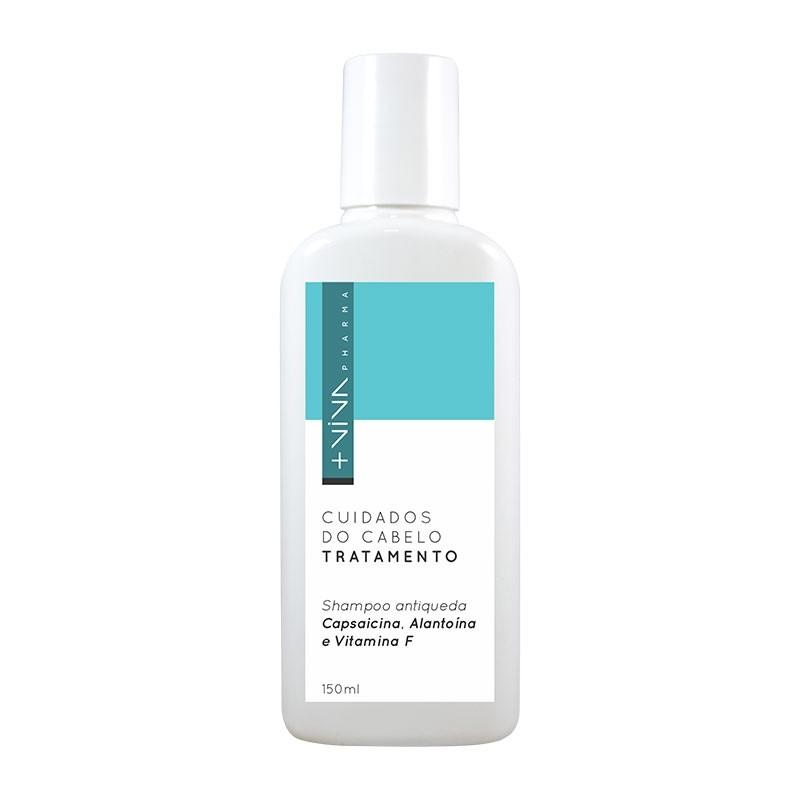 Shampoo Antiqueda Capsaicina, Alantoína e Vitamina F
