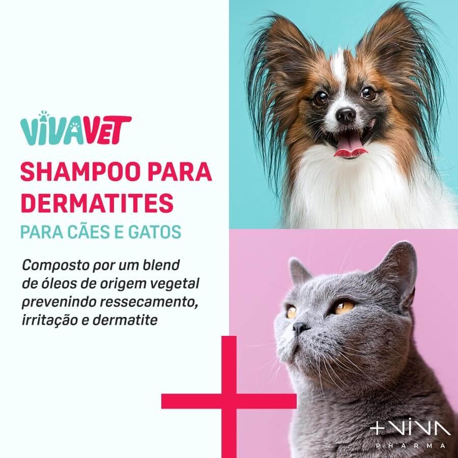 Shampoo para Dermatites para Cães e Gatos - 150ml