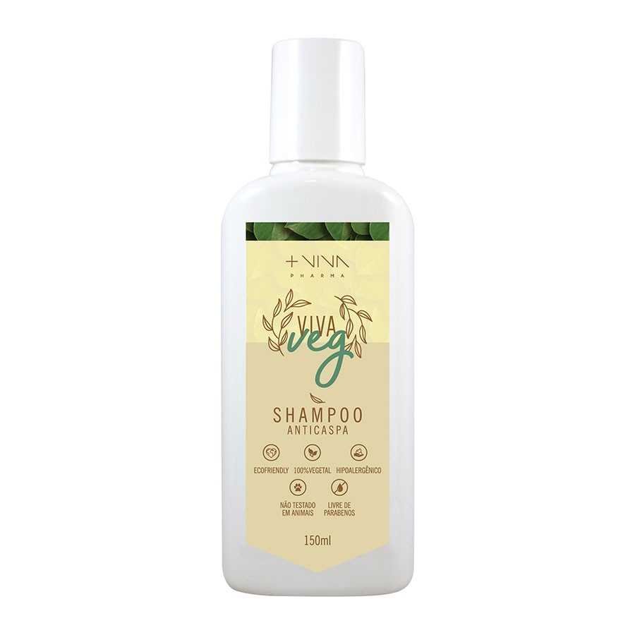 Shampoo Vegano Anticaspa  150ml