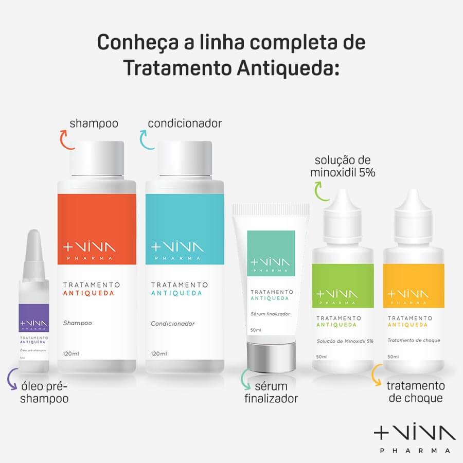 Solução de Minoxidil 5% Antiqueda 50ml