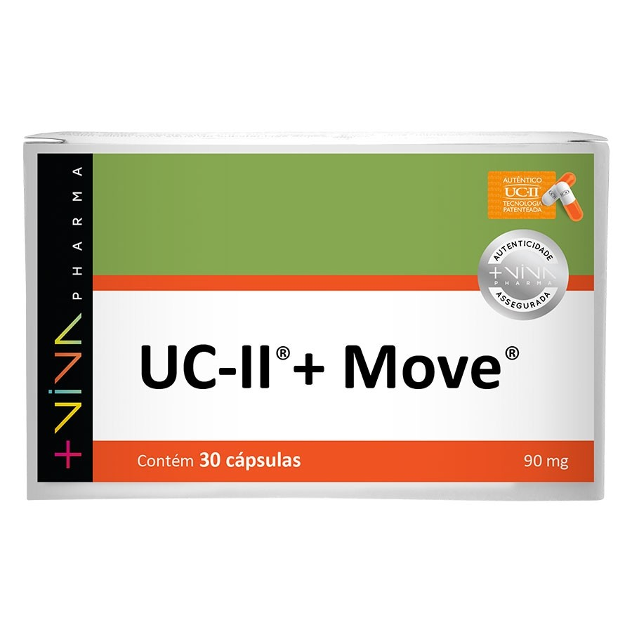 UC-II® + Move® 90mg 30 Cápsulas