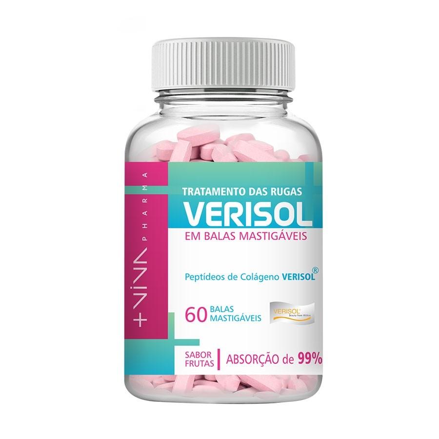 Verisol Balas Mastigáveis - 60 balas