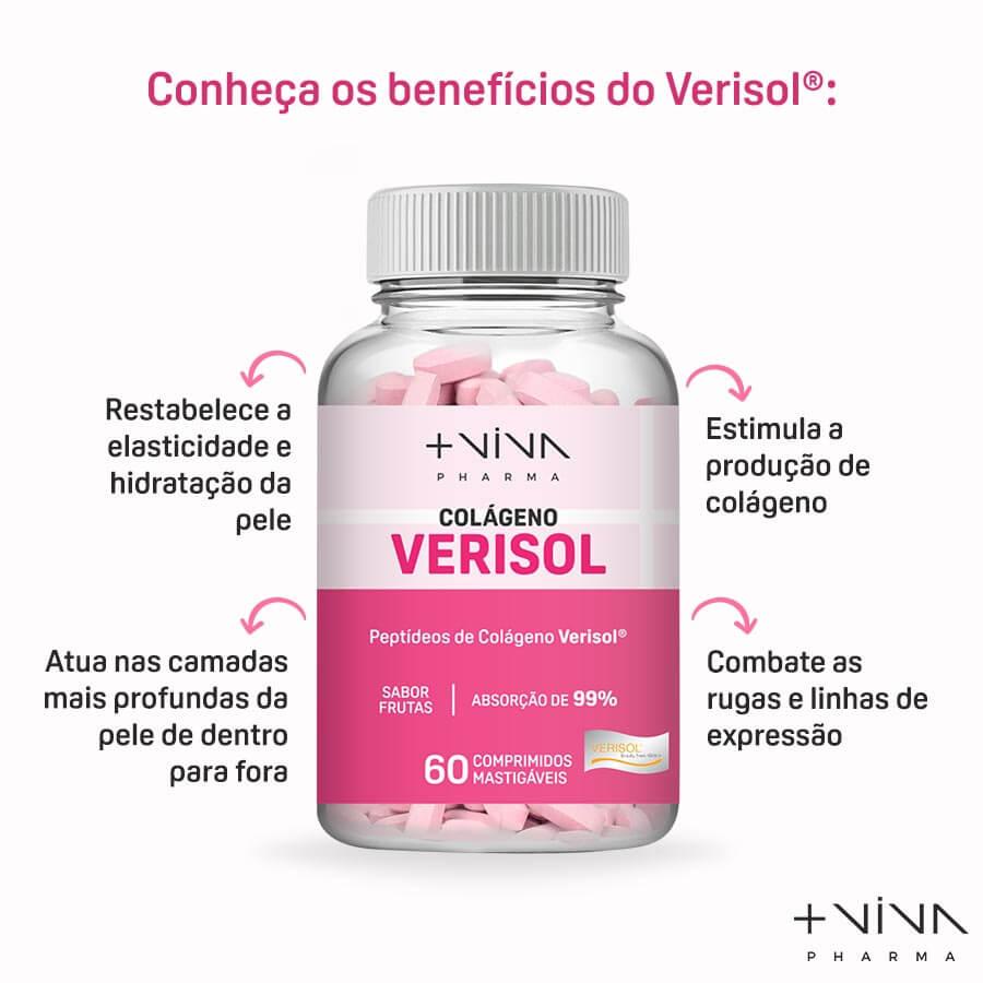 Verisol Comprimidos Mastigáveis - 60 balas