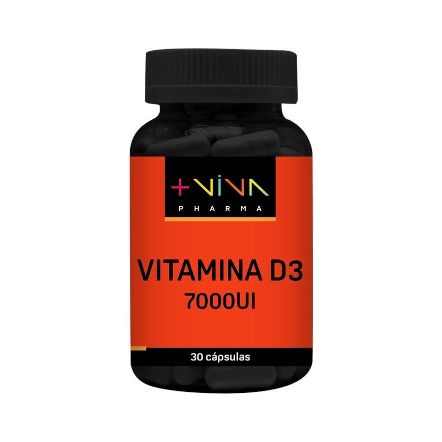 Vitamina D3 7000 UI 30 cápsulas