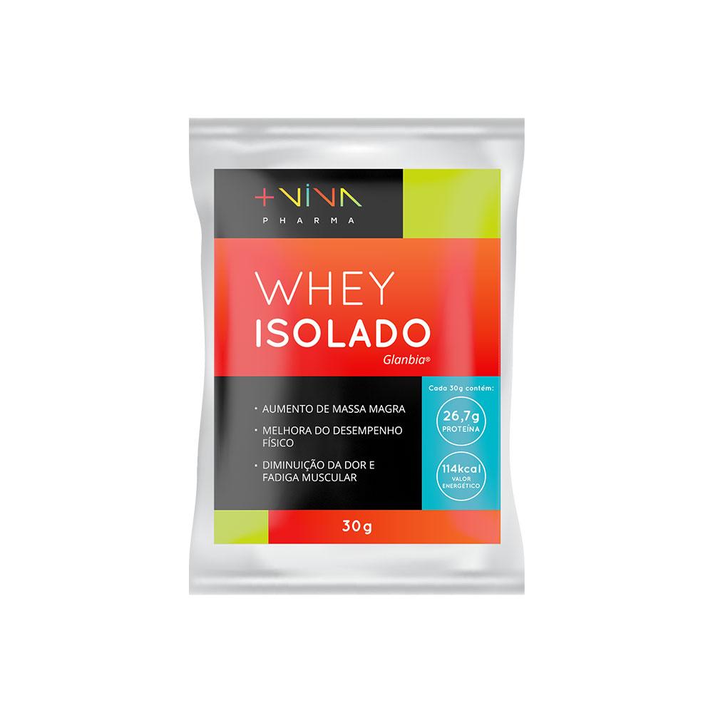 Whey Isolado Sem sabor com Xilitol 30g