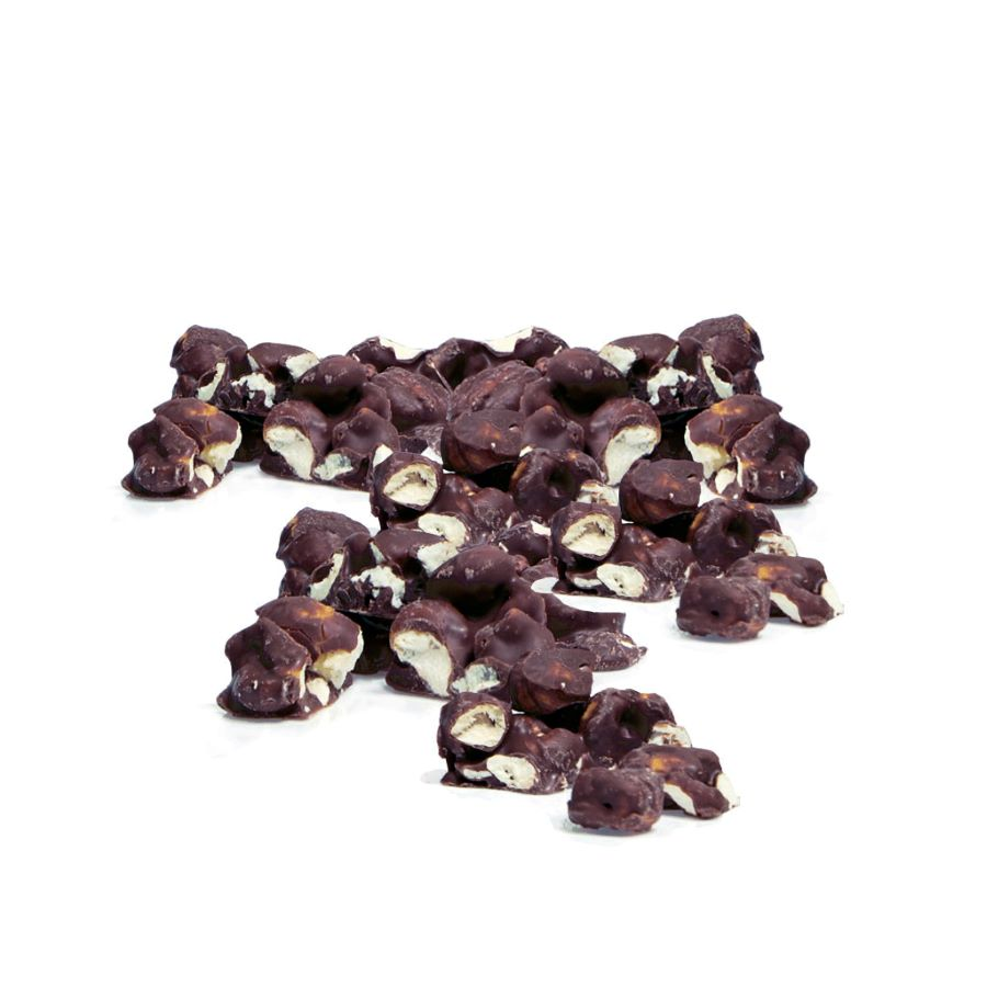 CARAMEL CHOCOLAT POPCORN & SEA SALT AMARGO A GRANEL 1 KG