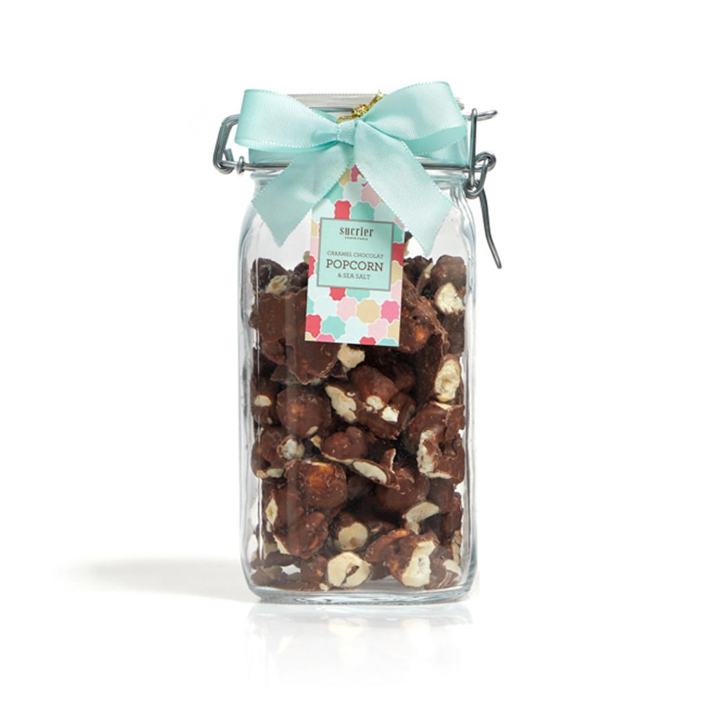 CARAMEL CHOCOLAT POPCORN & SEA SALT AMARGO JAR 300 G