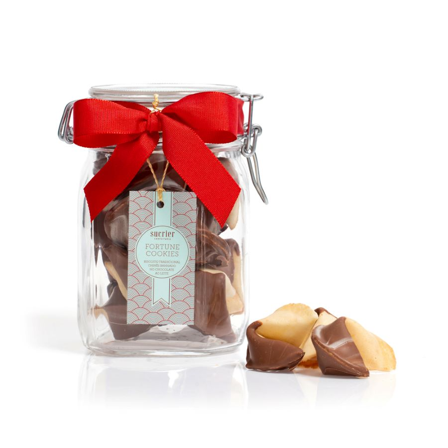 FORTUNE COOKIES JAR M