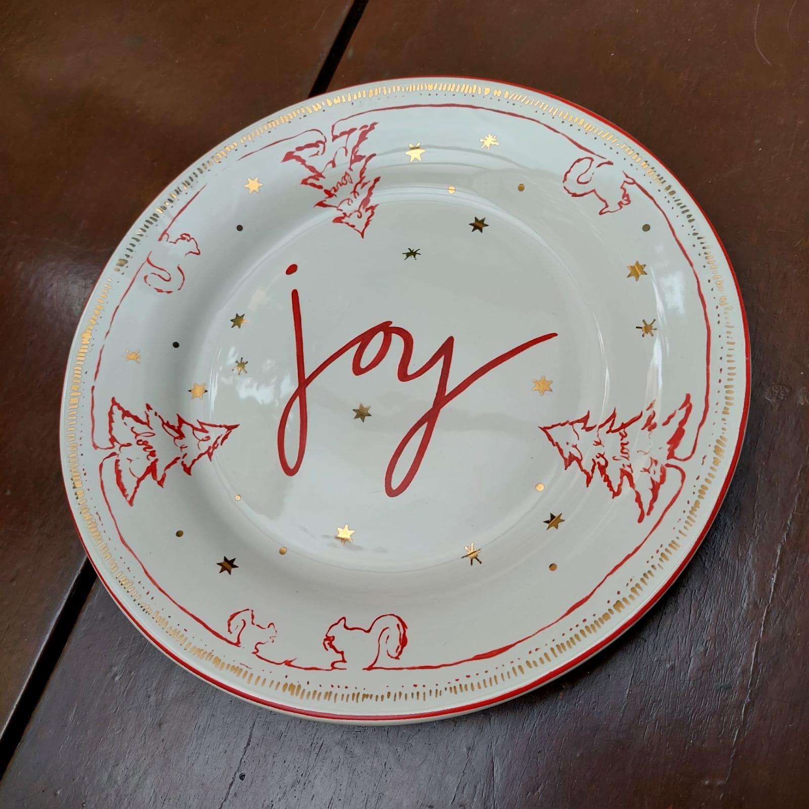Prato de Refeição Joy