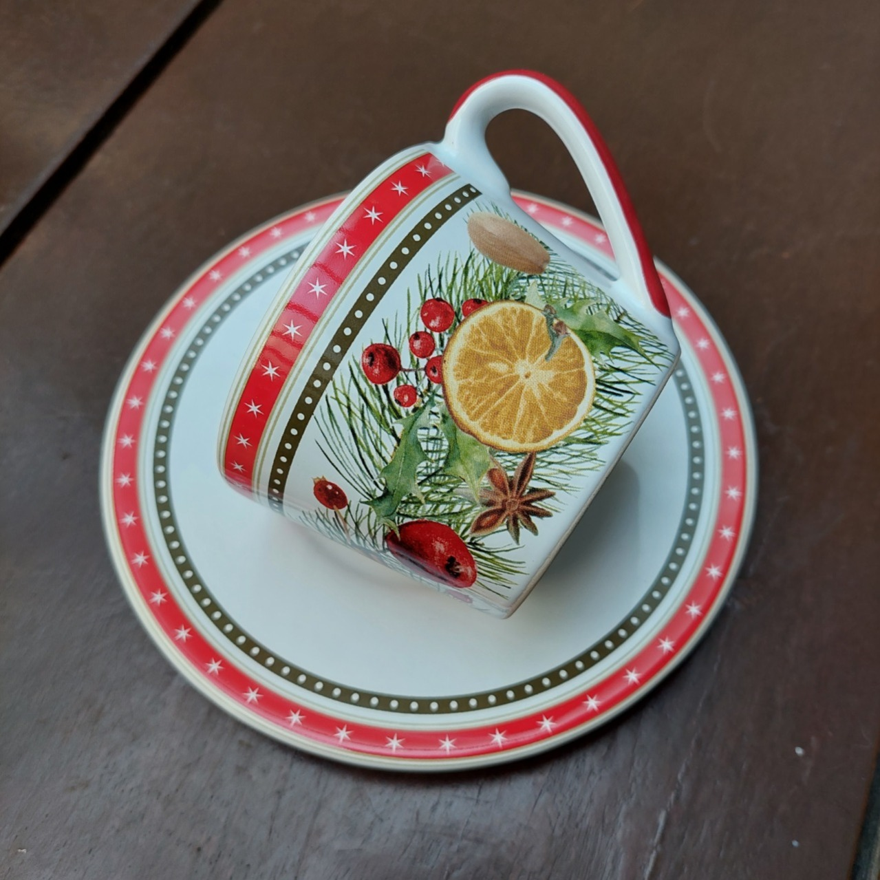Xícara de Chá Especiarias