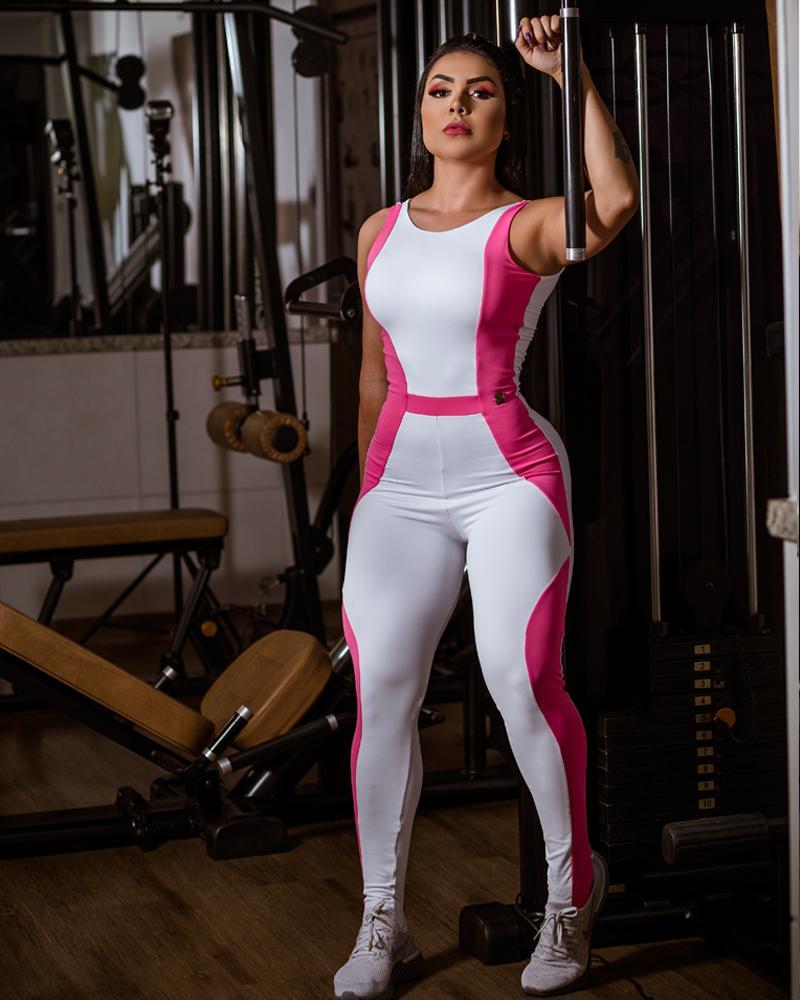 Macacão OutGrow Pink Curves