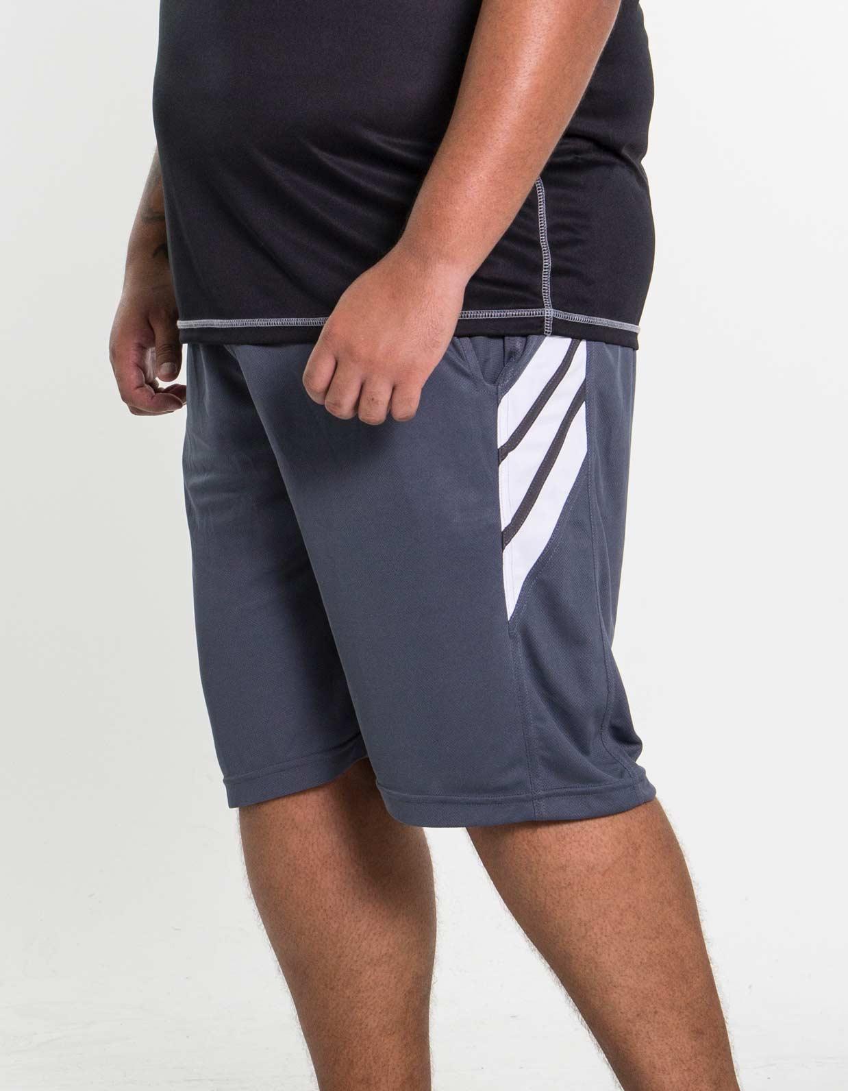 Bermuda Masculina Plus Size com Elástico