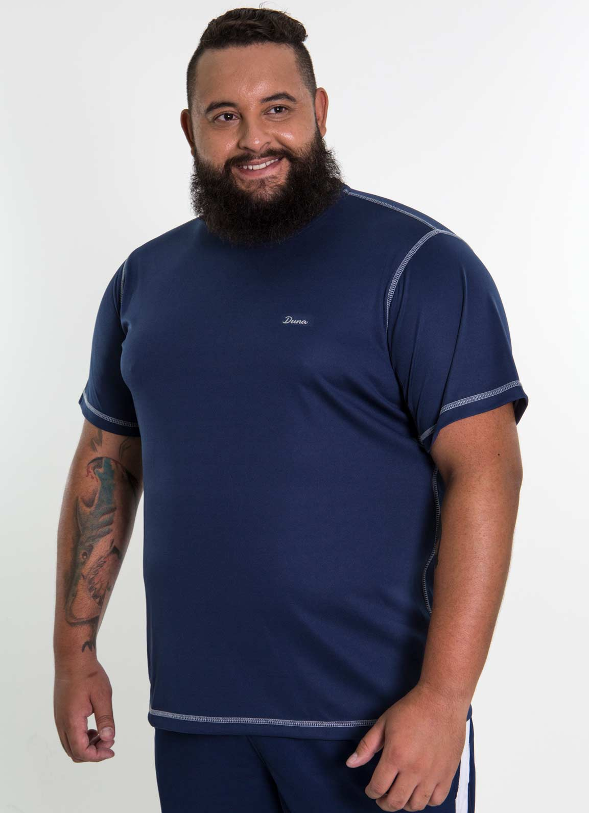 Camiseta Básica Plus Size Masculina - DRY FIT
