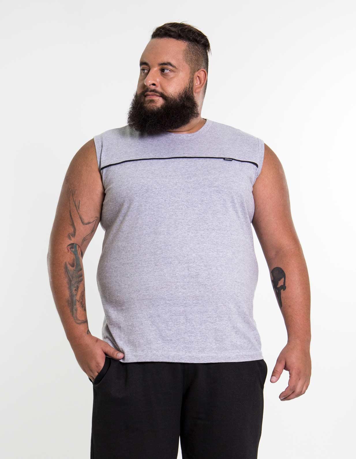 Camiseta Regata Plus Size