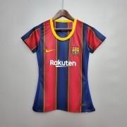 Camisa Barcelona I 20/21 Feminina