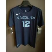 Camiseta Grizzlies Nº12 Ja Morant