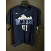 Camiseta Mavericks Nº41 Nowitzki