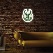 Luminoso Milwaukee Bucks
