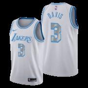 Regata Anthony Davis Nº 3 Lakers Branco/Azul