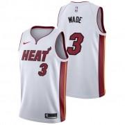 Regata Dwyane Wade Nº 3 Miami Heat Branco
