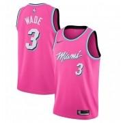 Regata Dwyane Wade Nº 3 Miami Heat Rosa
