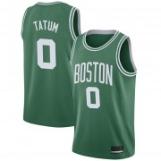 Regata Jayson Tatum Nº 0 Boston Celtics Verde