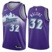 Regata Karl Malone Nº 32 Utah Jazz Roxo