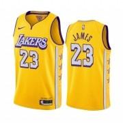 Regata LeBron James Nº 23 Lakers 19/20 Amarelo