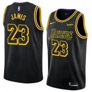 Regata Lebron James Nº 23 Lakers Black Mamba