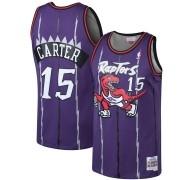 Regata Retrô Carter Nº 15 Raptors Roxo