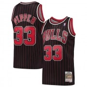 Regata Scottie Pippen Nº 33 Chicago Bulls Preto