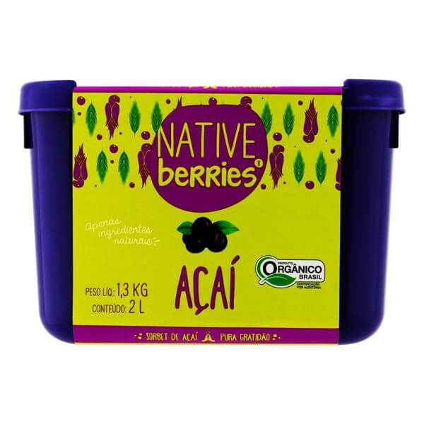 Açai Original Organico 2L- Native Berries